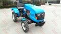 Ukraine and Russia market mini four wheel tractor,12/15hp 5