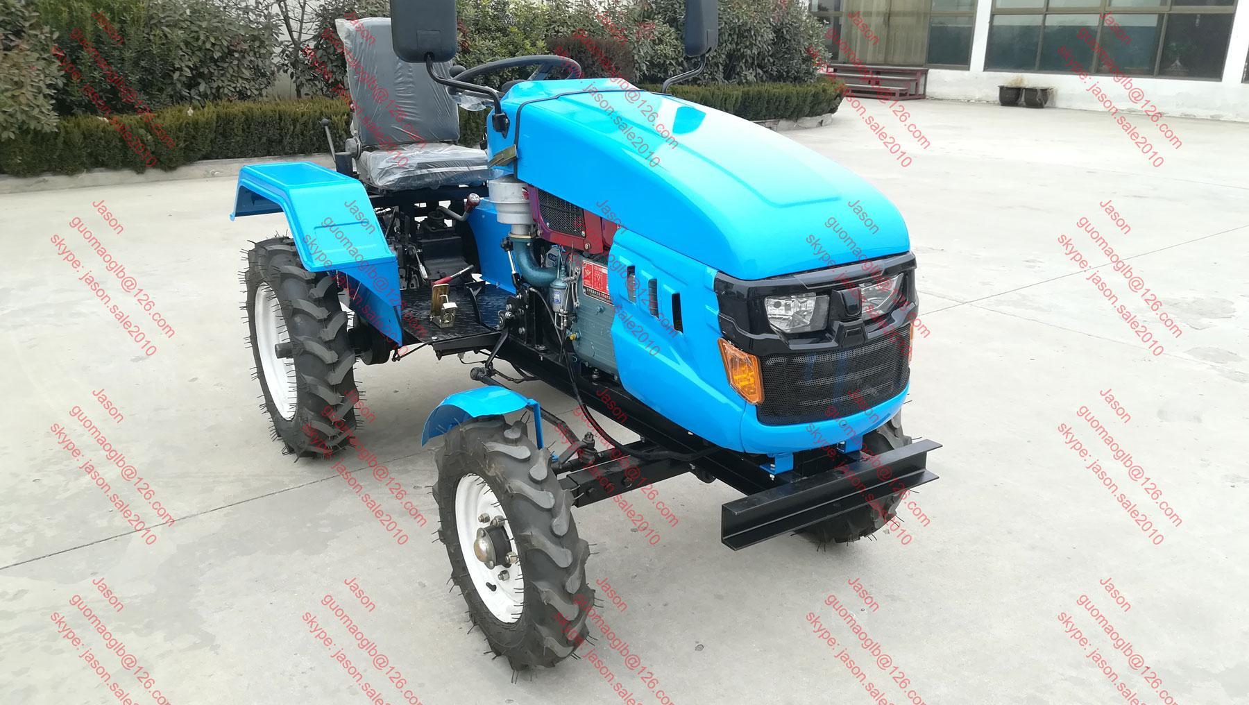 12hp or 15hp or 18hp  mini farm tractor, farm motoblok 1