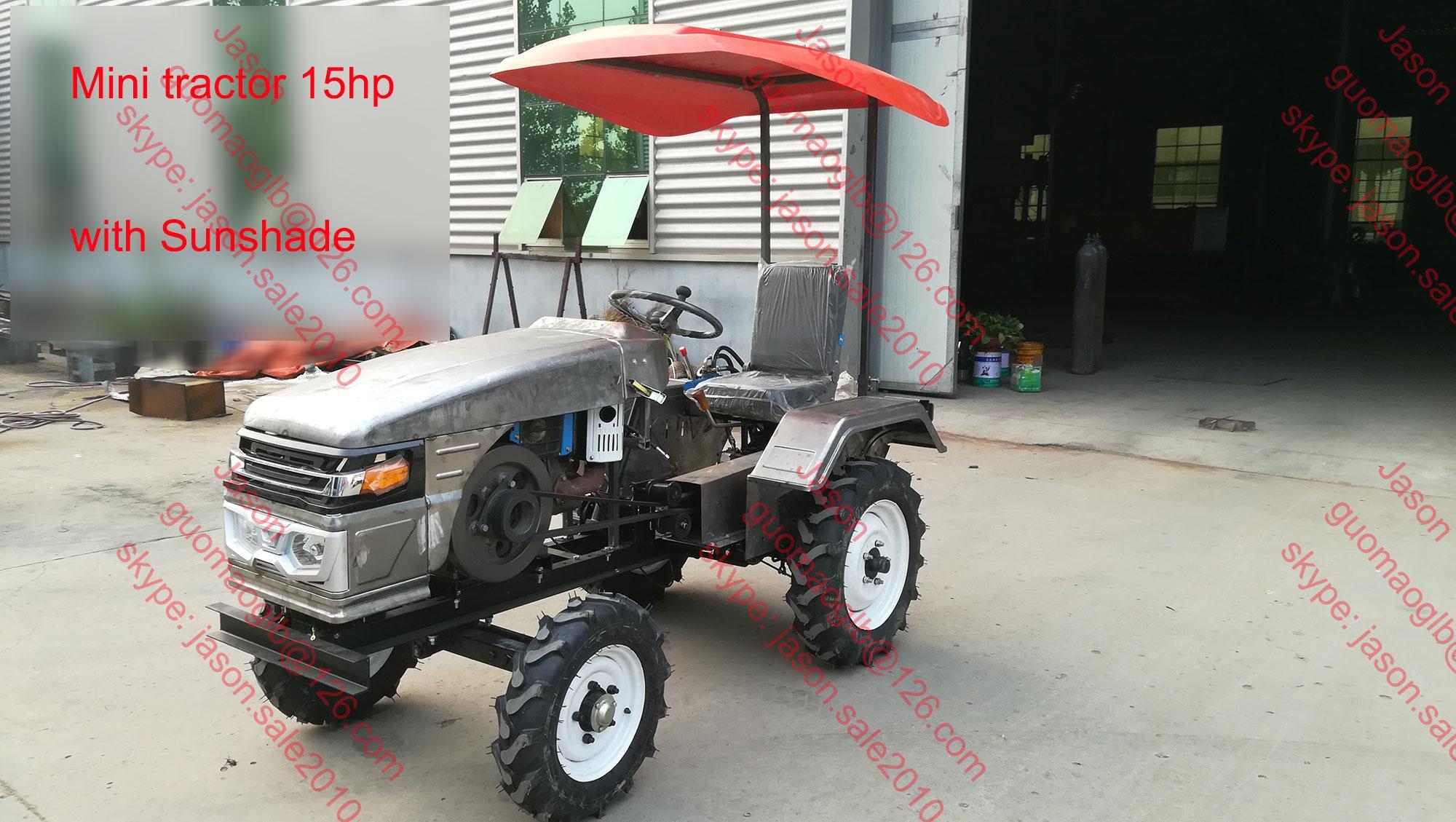 农用小型四轮拖拉机配旋耕机 2