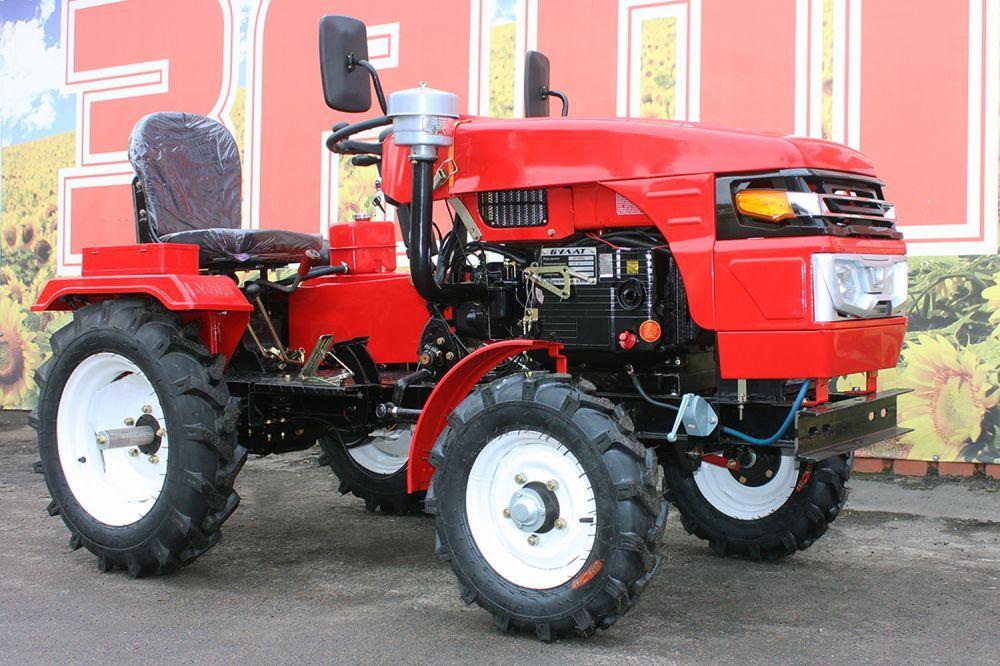 mini four wheel tractor,12/15hp 6