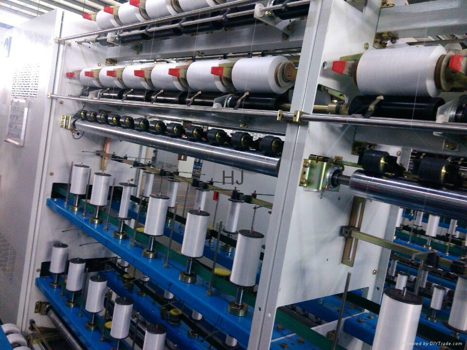 Mechanical covery (spandex / polyester covered yarn) 3