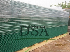 Y post The blade barbed wire mesh fence