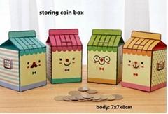 saving box storing coin box