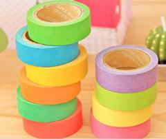 neon tape colour paper tape fluorescent paper tape