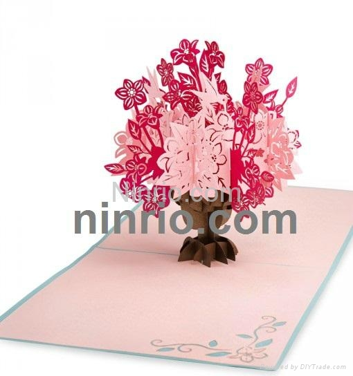 Willow tree 3d popup greeting card a17 ninrio vietnam willow tree 3d popup greeting card 3 m4hsunfo