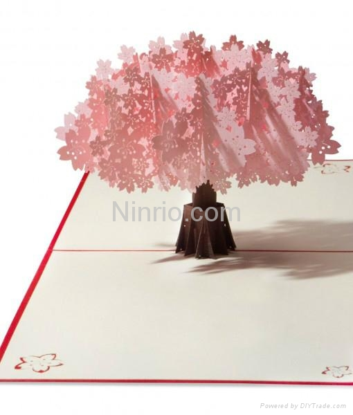 Willow tree 3d popup greeting card a17 ninrio vietnam willow tree 3d popup greeting card 2 m4hsunfo