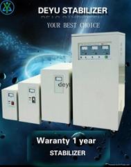 svc tns 60kw 60kva three phase automatic 380v voltage stabilizer