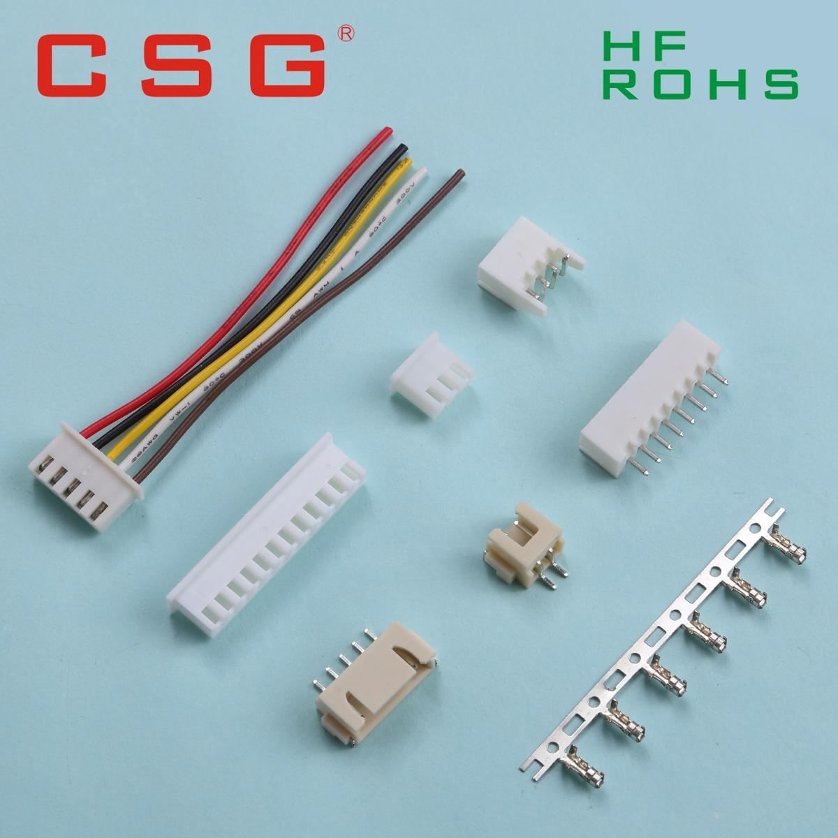 Custom Wire Harness Ph 25mm Connector A2501 Csg China 1