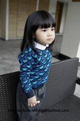 Etonzoe Kids Woolen Sweater Boys Girls Lovely Sweaters Children Clothing