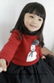 Etonzoe Kids Woolen Sweater Girls Lovely