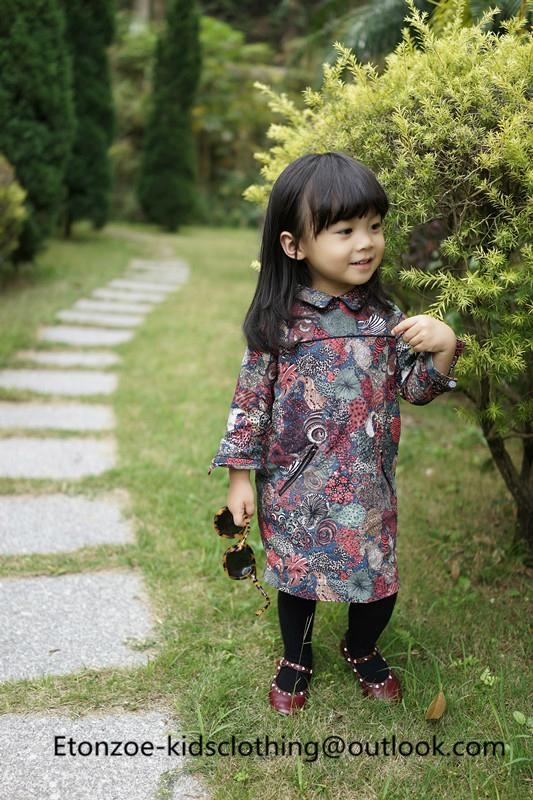 Etonzoe Kids Flower Shirt Girls Lovely overshirt Children Clothing 5