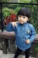 Etonzoe Kids Cowboy cotton Shirt