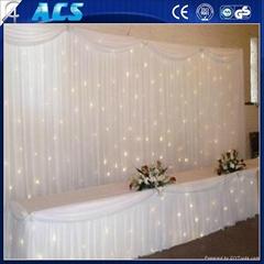reasonable price modeling studio background,led star vision curtain