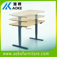dual motor height adjust