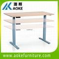 Manually Adjustable Desk Ak02ht Aj Aoke China