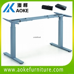 sit to stand office desk frame
