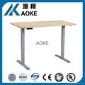 adjustable computer desk frame
