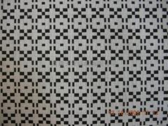 黑白反色雙層布