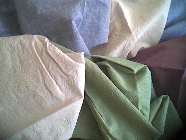 全棉色織機軋縐布 1