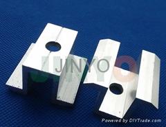 太阳能光伏支架配件晶硅电池板组件压块铝合金压块