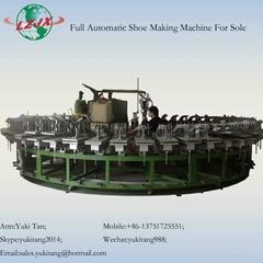 production line for polyurethane shoe sole pu foam machine