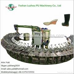 2015 New Products PU Shoe Injection Molding Machine