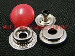 服装辅料金属四合扣款式多样可按照要求订购
