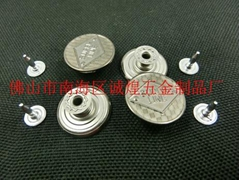 Factory self-sell Jeans Button