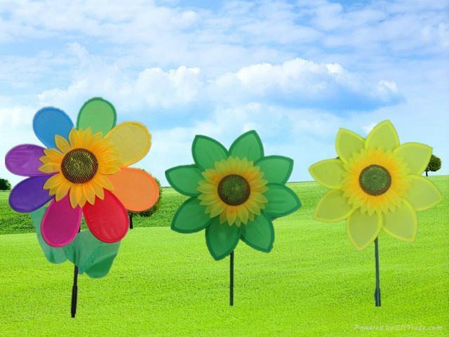 ... Garden Windmill Decoration Garden Sunflower Windmill Colorful Home  Windmills ...