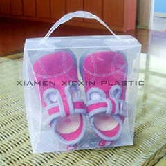 clear baby shoe box pack