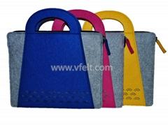 fashion women felt bag