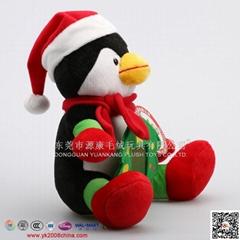 毛绒圣诞老人