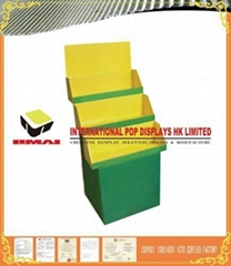 Full Color Printing Cardboard Trapezoid