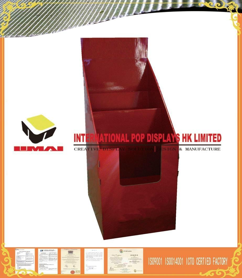 Matt Gloss PP Cardboard Display Rack For Advertising   1