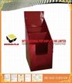 Matt Gloss PP Cardboard Display Rack For