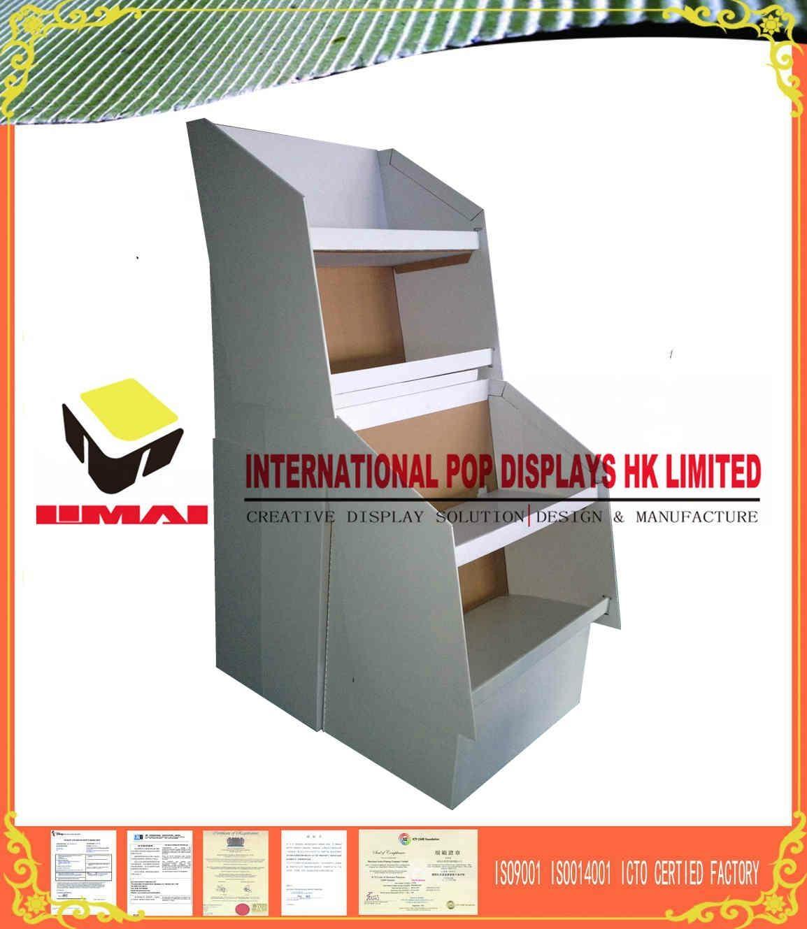Retail Displays Gloss PP Lamination Cardboard No Color 2