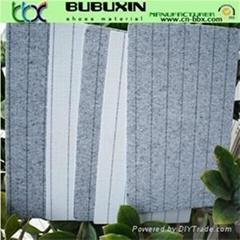 Various grades nonwoven cellulose stripe insole board