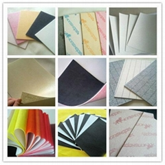 1.0mm-3.0mm nonwoven stripe insole board for shoes