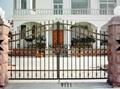 wrought iron garden gates 3