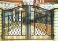 wrought iron garden gates 4