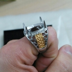 新款印度尼西亚不锈钢戒指