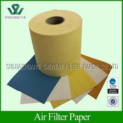 light duty air filter paper