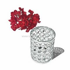IDA handmade small crystal ball candle holder (IDACH06)