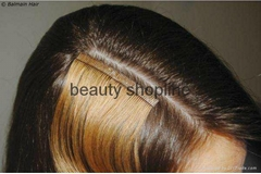tape hair extension 100%human hair extension