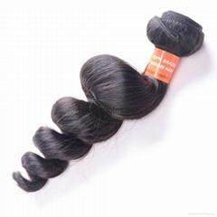 factory price high quality human hair weft brazilian hair