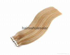Tape in hair extension b