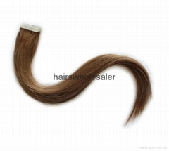 wholesale price tape in hair extension facotory human hair extension
