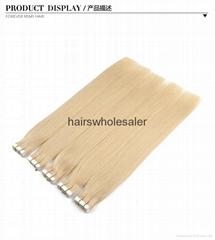 Tape in hair extension brazilian hair extension virgin remy hair
