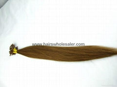glue hair extension 100%human hair products