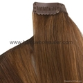 100%human indian hair extension hot sale